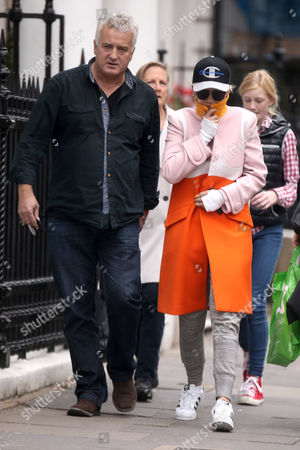 Editorial image of Rita Ora out and about, London, Britain - 19 Oct 2015