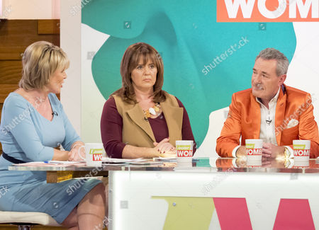 Ruth Langsford, Coleen Nolan and Michael Pattemore