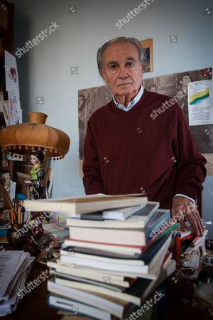 Editorial picture of Poet Ferruccio Brugnaro Spinea, Venice, Italy - 17 Oct 2015
