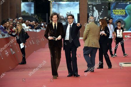 Wes Anderson and Antonio Monda