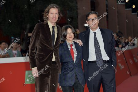 Wes Anderson, Donna Tartt and Antonio Monda
