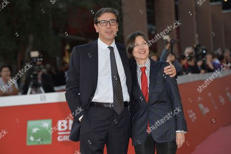 Antonio Monda and Donna Tartt