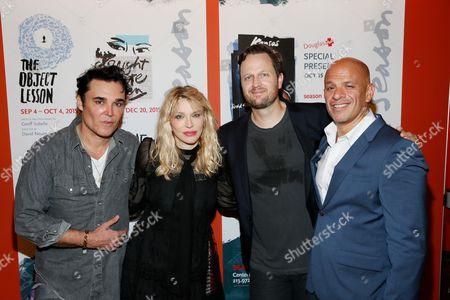 David LaChapelle, Courtney Love, Todd Almond and Mark Subias