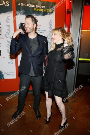 Todd Almond and Courtney Love