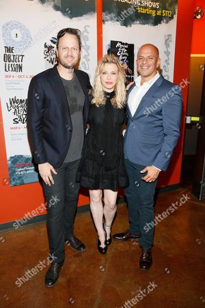 Todd Almond, Courtney Love and Mark Subias