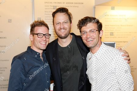 Barrett Foa, Todd Almond and Sam Pinkleton