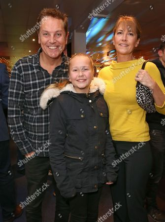 Brian Conley and Anne-Marie Conley and their daughter