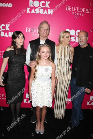 Zooey Deschanel, Avery Phillips, Bill Murray, Kate Hudson and Bruce Willis