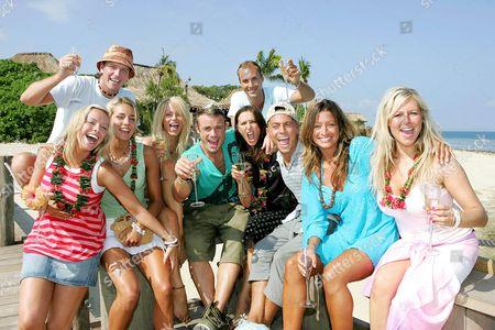 Liz McClarnon, Lee Sharpe, Isabella Hervey, Nikki Ziering, Fran Cosgrave, Jayne Middlemiss, Calum Best, Paul Danan, Rebecca Loos and Abi Titmuss