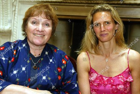 Libby Purves with Lady Caroline Spencer.