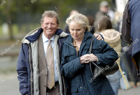 Stock Photo of Johnny Briggs and Patricia Brake