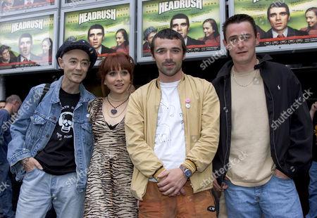 Editorial image of 'HEADRUSH' FILM PREMIERE, DUBLIN, EIRE - 21 JUN 2005