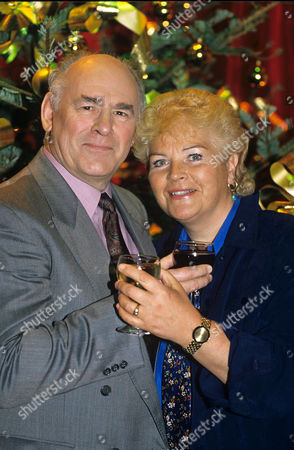 Stock Picture of Tony Caunter and Pam St Clement - 1995