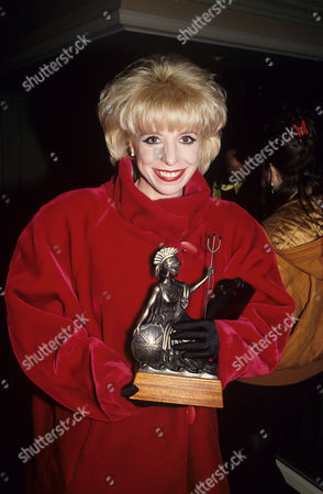 Julee Cruise at the Brit Awards, London, Britain - 1991