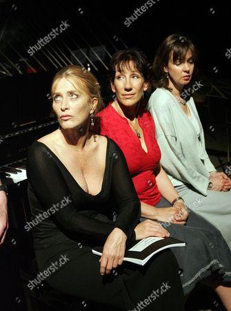 'Three Women and a Piano Tuner' at the Hampstead Theatre - Eleanor David Jane Gurnett Phoebe Nicholls