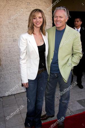 Lisa kudrow and Michel Stern