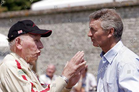 John Surtees being interviewed by Tony Jardine