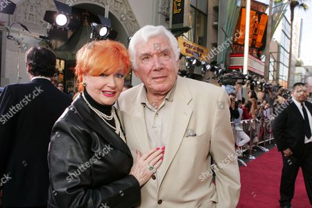 Stock Image of Ann Robinson and Gene Barry