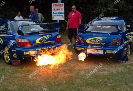 Exhaust Flame Stock Pictures, Editorial Images and Stock