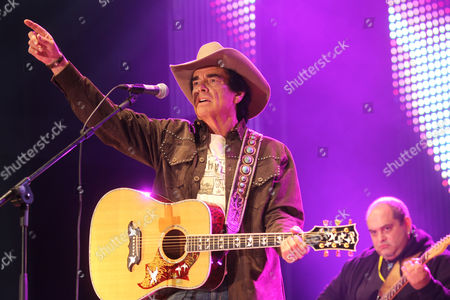 German singer Tom Astor, at the ADAC Truck Grand Prix Nuerburgring 2010, country music festival, Nuerburgring race track, Rhineland-Palatinate, Germany, Europe
