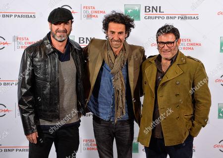 Eric Cantona, Laurent Laffargue, Sergi Lopez