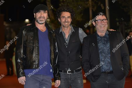 Eric Cantona, Laurent Laffargue and Sergi Lopez