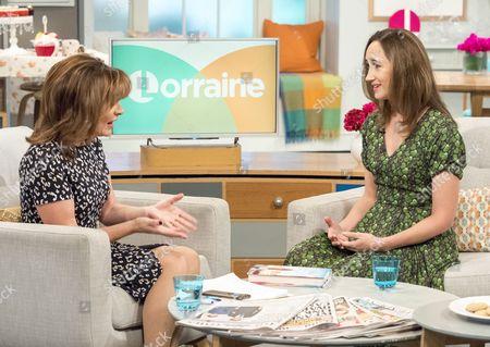 Lorraine Kelly and Sophie Kinsella