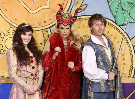 Carla Nella, Katie Price and Ben Faulks