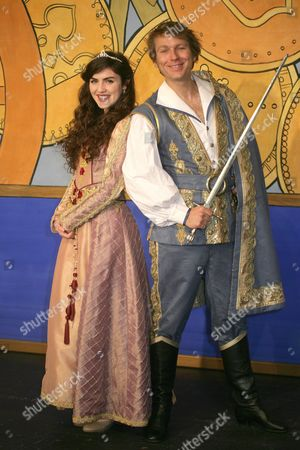 Stock Image of Carla Nella as Sleeping Beauty & Ben Faulks as The Prince