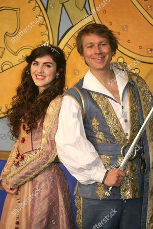 Carla Nella as Sleeping Beauty & Ben Faulks as The Prince