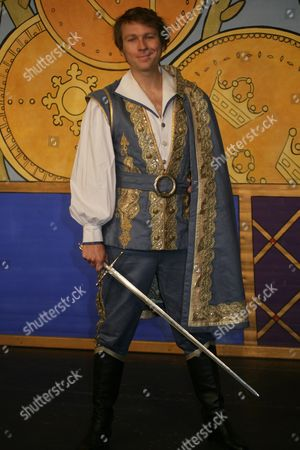 Stock Picture of Ben Faulks as The Prince
