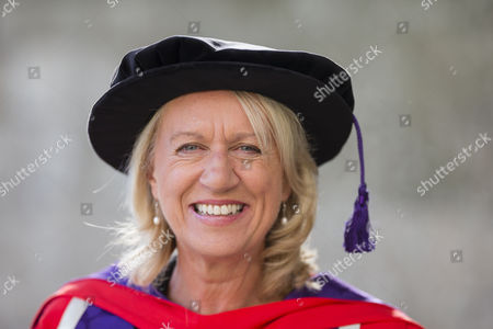 BBC South presenter Sally Taylor MBE who received an Honorary Doctorate.
