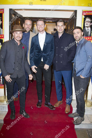 Darren Everest, Lacie Chapman, Timmy Matley, Mike Crawshaw and Mark Franks