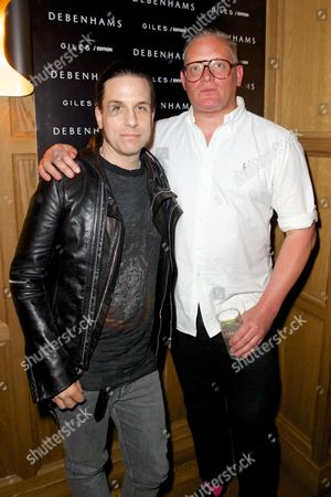 Stock Picture of Todd Lynn and Giles Deacon