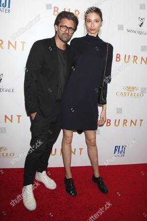 Chris Colls and Alexandra Agoston