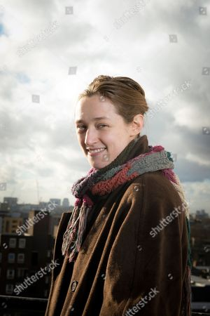 London United Kingdom - January 15: Portrait Of English Science Fiction And Fantasy Author Catherine Webb Photographed In London On January 15 2015. Webb Is Best Known For Her Horatio Lyle Series Of Novels