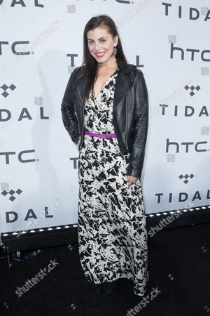 Editorial picture of TIDAL X: 1020 Amplified by HTC event, New York, America - 20 Oct 2015
