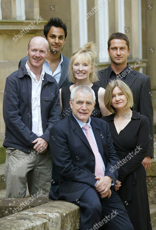 Stock Photo of Paul Lafferty, Atta Yaqub, Lindsay Duncan, Brian Cox, Gerard Butler and Andrea Gibb