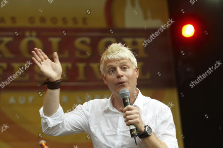 Presenter Guido Cantz, Koelsch Festival, Loreley Open-air Stage, St. Goarshausen, Rhineland-Palatinate, Germany, Europe