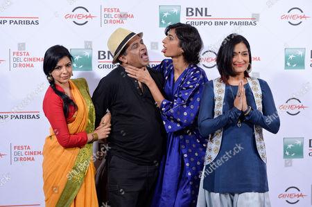 Rajshri Deshpande, Pan Nalin, Anushka Manchanda and Sandhya Mridul