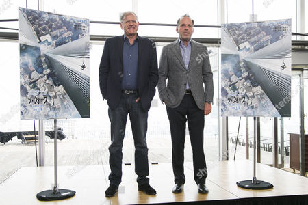 Editorial image of Robert Zemeckis promotes 'The Walk' in Tokyo, Japan - 21 Oct 2015