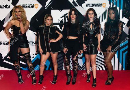 Fifth Harmony - Ally Brooke Hernandez, Normani Kordei, Lauren Jauregui, Camila Cabello Dinah, Jane Hansen