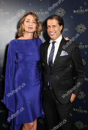 Maria Cristina Buccellati and guest
