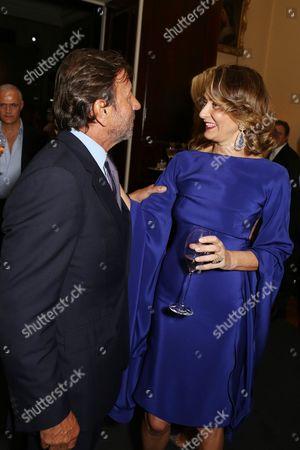 Sir Rocco Forte and Maria Cristina Buccellati