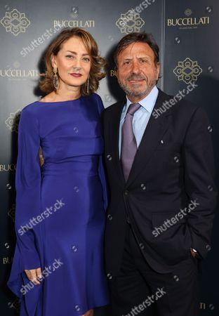 Maria Cristina Buccellati and Sir Rocco Forte