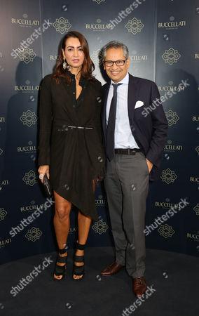 Maria Buccellati and guest