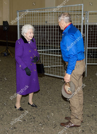 Editorial photo of Horse Whispering Demonstration and Reception, London, Britain - 21 Oct 2015