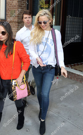 Editorial image of Kate Hudson out and about, New York, America - 21 Oct 2015
