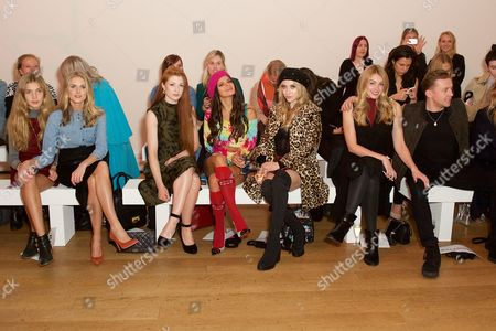Freya Air Aspinall, Donna Air, Nicola Roberts, Bip Ling, Liz Y2K, Georgia Horsley and Danny Jones