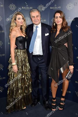 Lucrezia Buccellati, Andrea Buccellati and Maria Buccellati